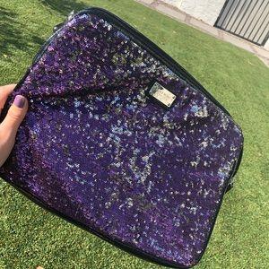 Nine West Bags - Nine West Purple Sequin Laptop Case